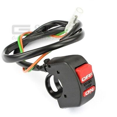 Power Break Kill Switch ON-OFF Motorcycle Motorbike Scooter Quad ATV Motocross