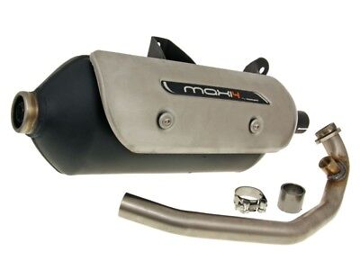 Exhaust Muffler TECNIGAS Maxi 4N for Aprilia Atlantic 125 S