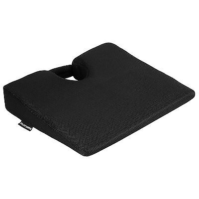 Memory Foam Wedge Seat/Chair Cushion Lower Base Posture Support Car/Home/Office