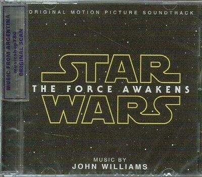 Star Wars The Force Awakens Soundtrack Sealed Cd New 2016 John Williams