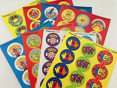 Scratch and Sniff Stickers - CLASSROOM REWARDS PACK (120 STICKERS)