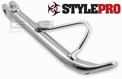 Side stand StylePro Chrome Look for PGO Big Max Comet Tornado Hot50 10""