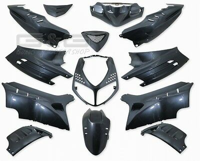 Fairing Kit 13 Piece In Carbon Look Peugeot Speedfight 2