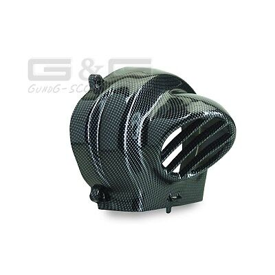 TNT Flywheel Cover Carbon FOR PIAGGIO and GILERA