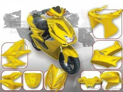 DMP FAIRING KIT YELLOW YAMAHA Aerox Nitro