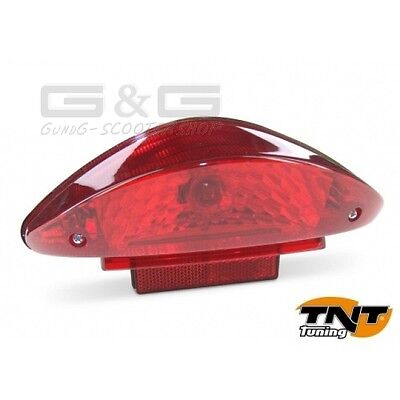 Rear Light With E-Checkmark For Cpi Aragon Hussar Oliver Popcorn Keeway Rx8 Ry8