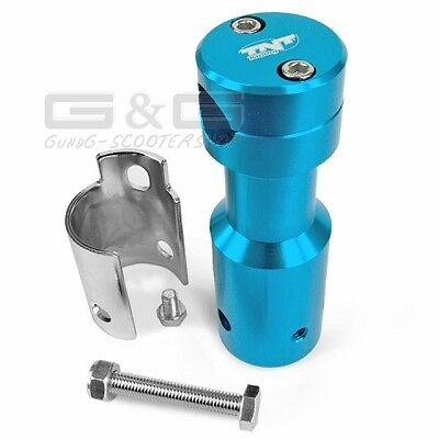 ADAPTER IN BLUE FOR PEUGEOT SPEEDFIGHT Downhill handlebar