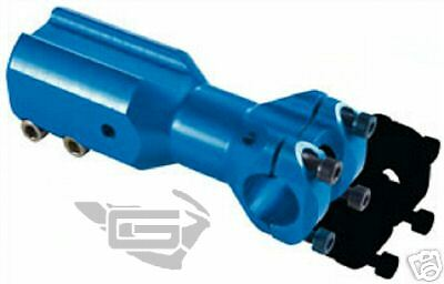 DOUBLER Adapter Downhill Handlebar Accept in blue for Peugeot