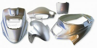 FAIRING SET fairing IN SILVER METALLIC FOR PGO Hot 50 12 ZOLL