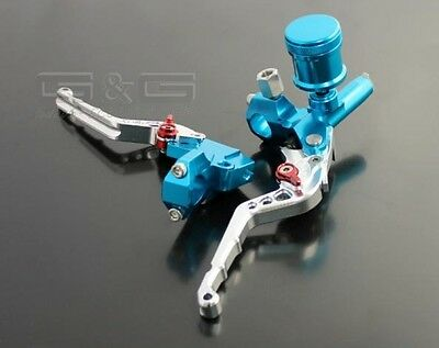 Brake lever system RC Racing DT Blue Universal Custom Aerox Nitro DSSC Universal