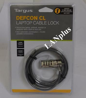 Targus Defcon CL Cable lock PA410AU Laptop Notebook Computer Keyless Security