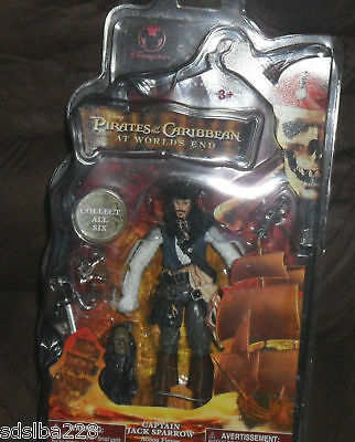 NEW Pirates Caribbean 3 JAck Sparrow figure Worlds End