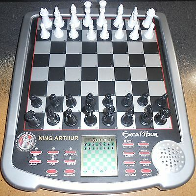 Excalibur King Arthur Electronic Chess Game - For Replacement Pieces/Parts