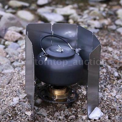 Camping Pot Cookware Outdoor Picnic Coffee Water Teapot Aluminum Kettle AC Z1V0