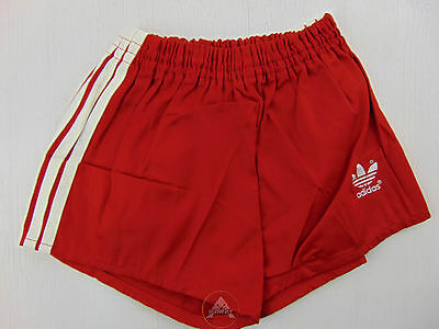 Vintage 80 ADIDAS Pantaloncini D152 XS S Bambino 11 12 Anni Rosso Shorts West