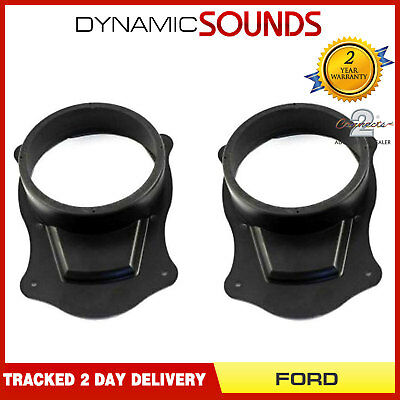 "CT25FD15 165mm 6.5"" Car Front Door Speaker Adaptors For Ford Transit Connect"