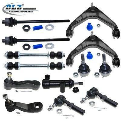 New Front Control Arm Tie Rod End Kit Set For 2002-2006 Chevrolet Avalanche 2500