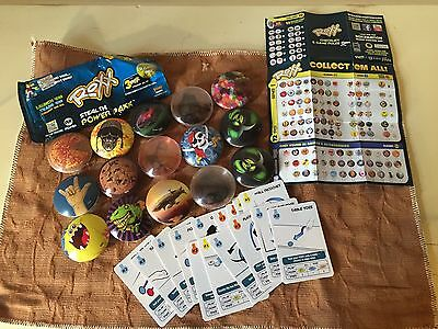 Imperial Toy 26000 Roxx Lot of 15 With Cards -Series 1