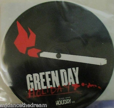 """GREEN DAY - Holiday ~ 7"""" Single PICTURE DISC"""
