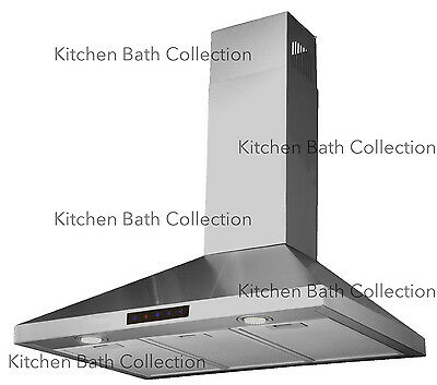 """30"""" STAINLESS STEEL WALL RANGE HOOD w/ TOUCH SCREEN & HIGH-END LED LIGHTS #STL75"""