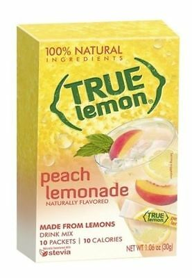 True Lemon Peach Lemonade Drink Mix