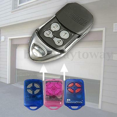 4 Button Replacement Gate Garage Door Remote Control For ATA PTX-4 SecuraCode