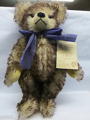 "Hermann 16"" Jointed Teddy Bear  'commemorative Bear'  Limited Edition"