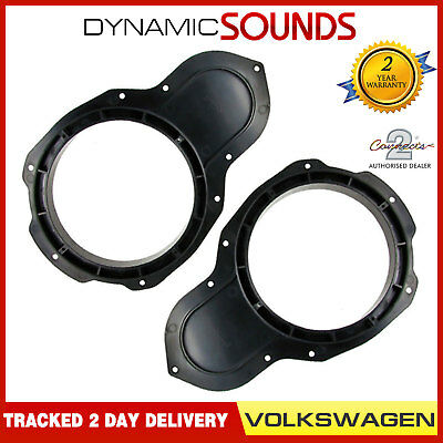 "CT25VW06 6.5"" 165mm Front Door Car Speaker Fitting Adaptor For VW Passat CC"