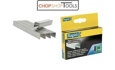Rapid R34 /140  Series Staples (Flatwire) Galvanised Steel 10mm 2000 Pack 140/10