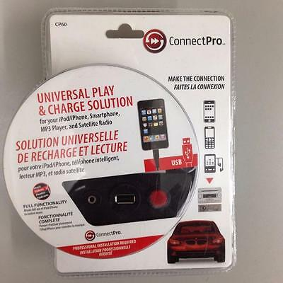 UNIVERSAL PLAY & CHARGE SOLUTION FOR Smartphones , MP3 Payers & Satellite Radio