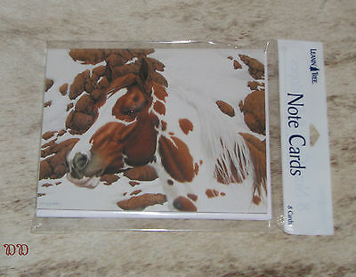 LEANIN TREE Artwork of Bev Doolittle #35930~Pack 8 Notecards~Hide And Seek Horse