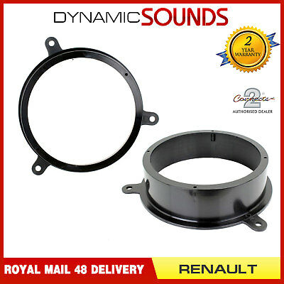 CT25RT05 165mm Front Rear Door Car Speaker Adaptor For RENAULT Scenic 2009>