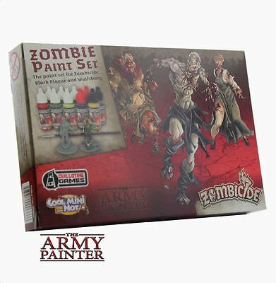 The Army Painter Zombicide Black Plague Zombie Paint Set Brand New