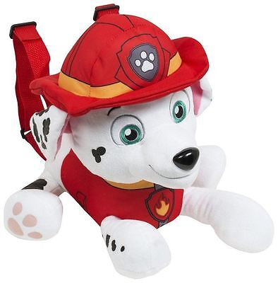 Paw Patrol Marshall Plush Backpack in The Shape of Your Favorite Character (Red
