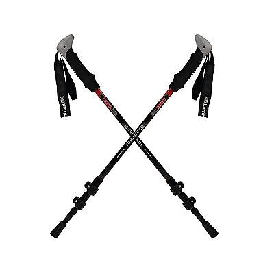 Karrimor Carbon Walking Poles Hiking Trekking Sticks Telescopic Grip Accessories