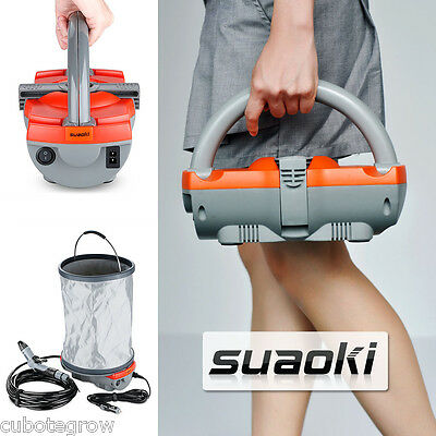 Suaoki 12V Portable Camping Spray Shower Pressure Washer Water Pump Outdoor Car