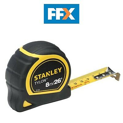 Stanley STA030656N Tylon Pocket Tape Measure 8m/26ft 25mm WIDE BLADE