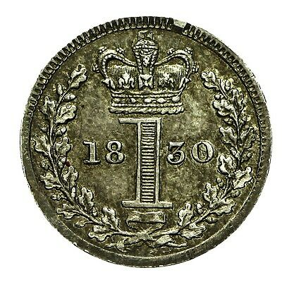 George Iv Silver Maundy Penny 1830