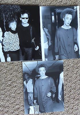 Boy George  Vintage Lot Of Orignal Photo Photograph