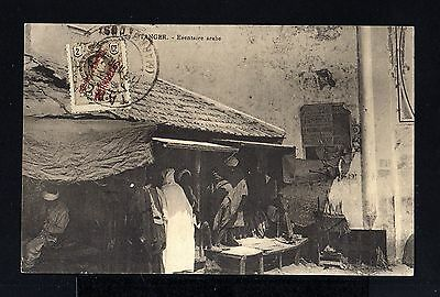 8837-SPANISH MOROCCO-SPAIN COLONIES-POSTCARD TANGER to FRANCE.1911.MARRUECOS.