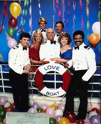 THE LOVE BOAT FRED GRANDY GAVIN MacLEOD BERNIE KOPELL TED LANGE 8 X 10 PHOTO 1