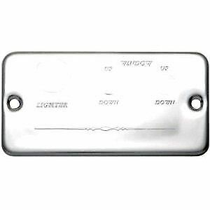 Freightliner Chrome AP Panel R + L Window Switch Plate
