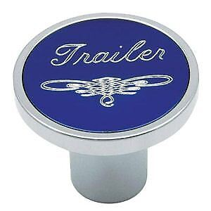 Universal Blue Trailer Air Valve Control Knob Threaded