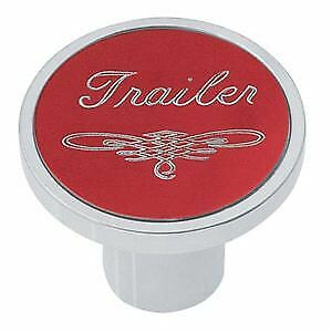 Universal Red Trailer Air Valve Control Knob Threaded