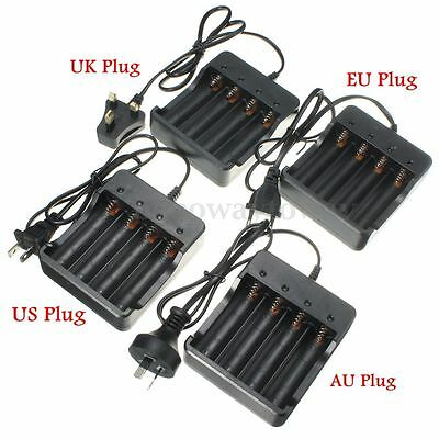 UK 4.2v Rechargeable charger Chargeur batterie pile universel Li-ion pour 18650