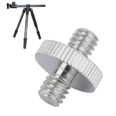 1/4 inch Male to 1/4 inch Male Camera Screw Adapter For Tripod Mount Holder GH