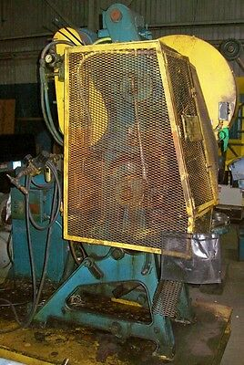 28 Ton Perkins Open Back Inclinable Press, Planet Machinery Stock #5126