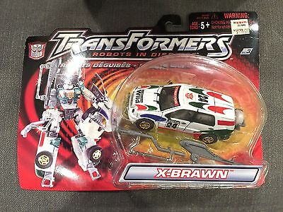 Transformers Robots in Disguise R.I.D. X-Brawn Mercedes SUV New USA Version Toy