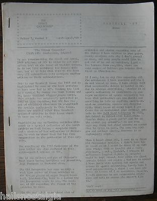 "April 1969 ""The Sports Collectors' News"", Vol. 2, #3, Baseball Issue, 32 pages"