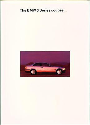 ++ Reduced ++Bmw 3 Series Coupe E36 1994 Sales Brochure
